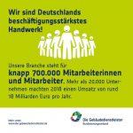 """Fakten-Bild mit dem Thema """"Deutschlands beschäftigungsstärkstes Handwerk"""""""