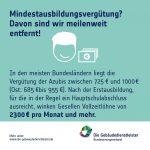 """Fakten-statt-Klischee-Kampagne zum Thema """"Mindestausbildungsvergütung"""""""