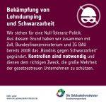 """Fakten-Bild zum Thema """"Bekämpfung von Lohndumpng und Schwarzarbeit"""""""